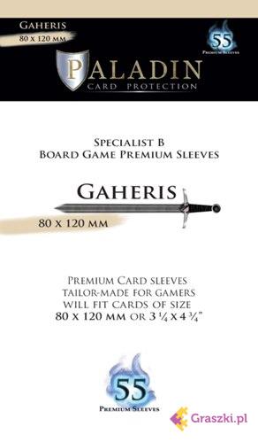 Koszulki na karty (80x120) Gaheris Premium , 55 sztuk | Paladin // darmowa dostawa od 249.99 zł // wysyłka do 24 godzin! // odbiór osobisty w Opolu